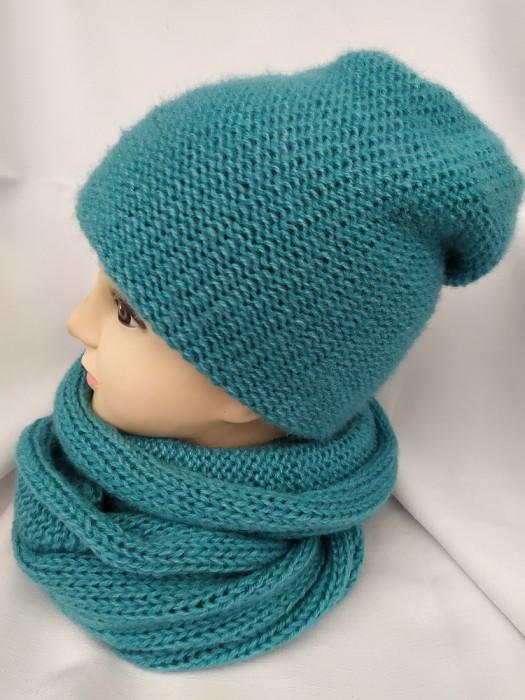 Dviguba šilta kepurė