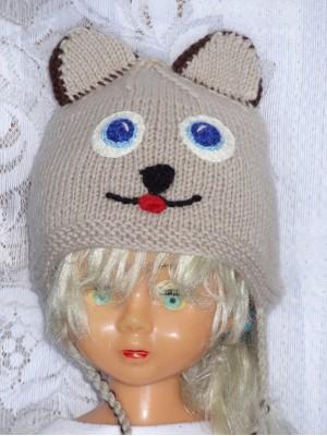 Kepurė Pilkšvas meškis