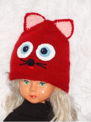 Kepurė Raudonas kačiukas