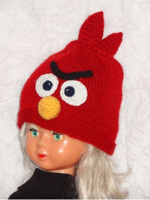 Kepurė: Raudonas paukštis