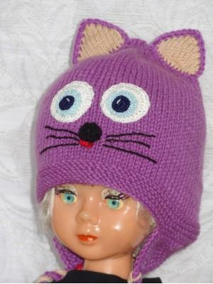 Kepurė Violetinis kačiukas