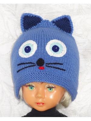 Kepurė Mėlynas kačiukas