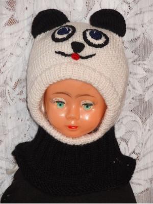 Kepurė šalmas Panda