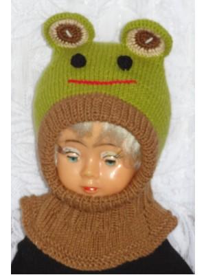 Kepurė šalmas: Varliukas