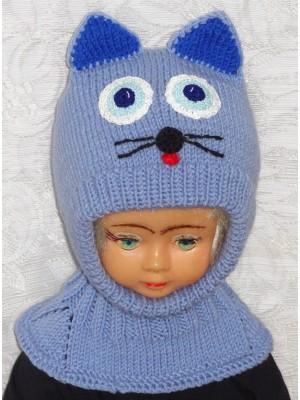 Kepurė šalmas: Mėlynas katinas