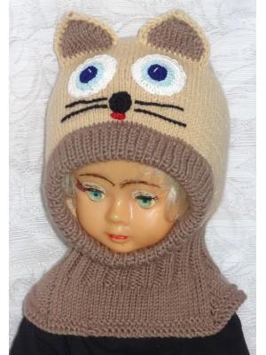 Kepurė šalmas Rudas katinas